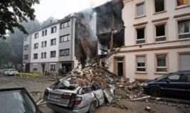 германия взрыв