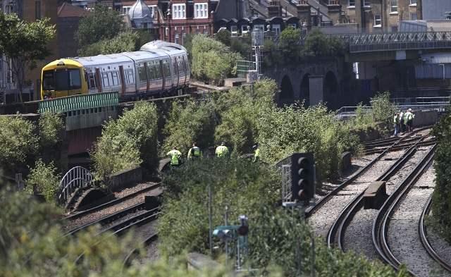 лондон поезд
