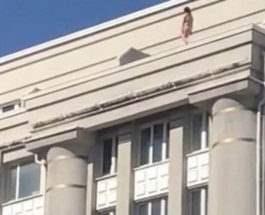 питер на крыше
