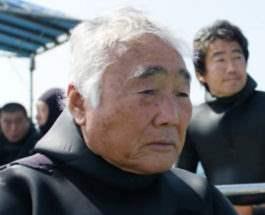 японец и рыба