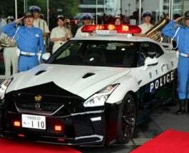 Nissan GT-R Police