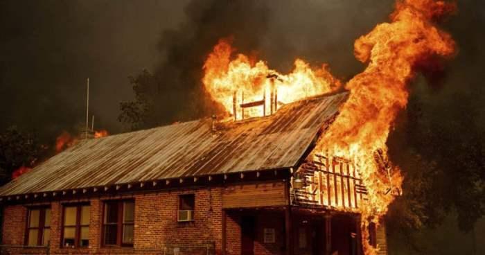 Калифорния пожары