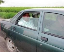Ким Чен Ын ездит на Lada Priora
