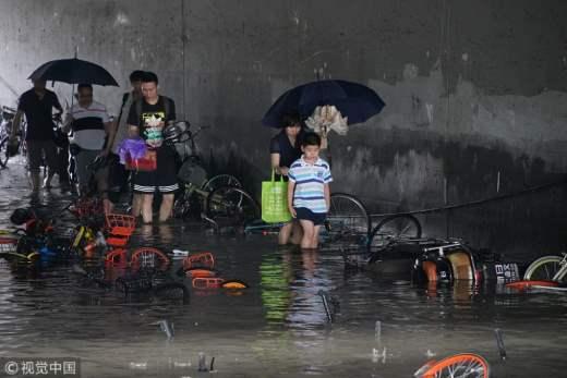 Пекин наводнение