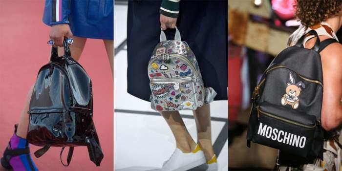 Сумочки в форме рюкзака