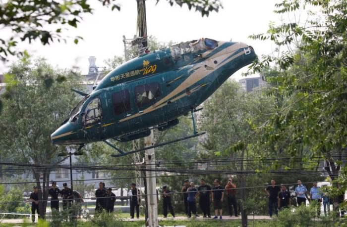вертолет китай