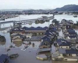 дожди япония