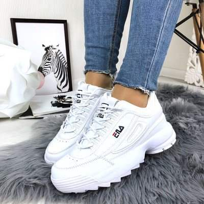 женские кроссовки Fila