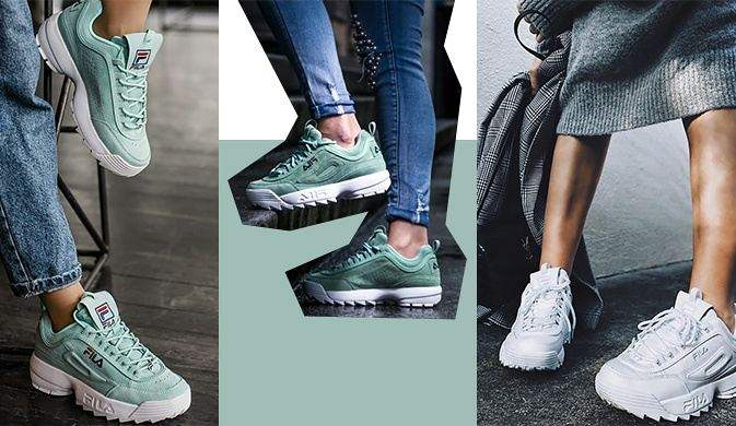 Модные кроссовки для девушки - что надо знать   Краткие новости 3db0cb45744
