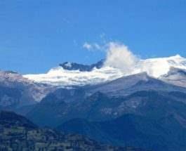 колумбийские ледники