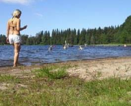 Жара в Финляндии
