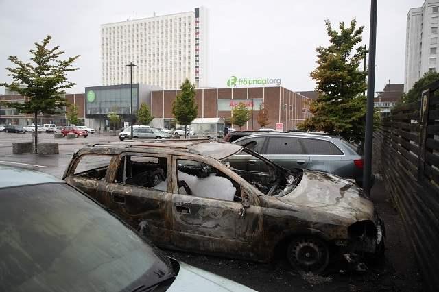 Автомобили поджог
