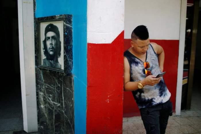 В Гаване, Куба.