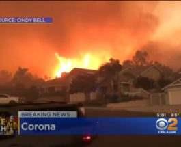 Лос-Анджелес горит