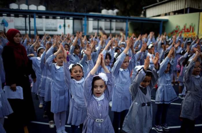 Палестинские школьнрики