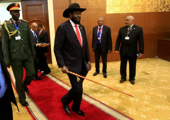 Президент Южного Судана