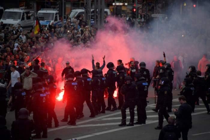 Протест в Хемнице