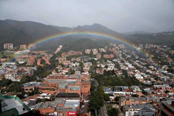 Радуга над Боготой