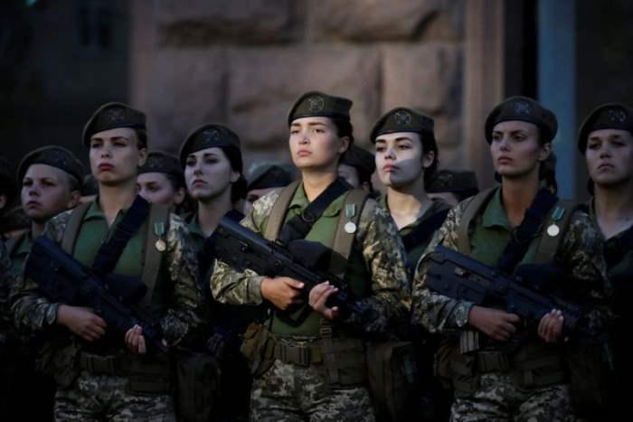 Репетиция Дня независимости в центре Киева