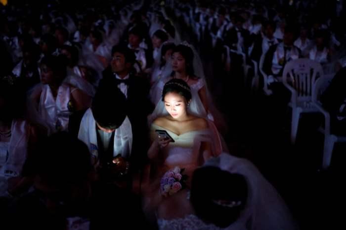 Свадьба в Южной Корее.