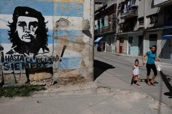 Улица в Гаване, Куба.
