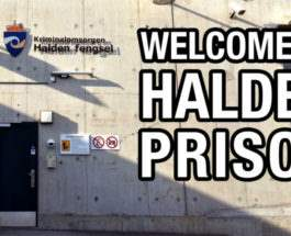 Халден тюрьма Норвегия