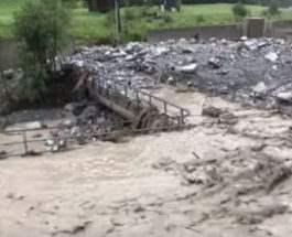 австрия наводнение