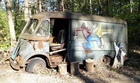 автобус Aerosmith