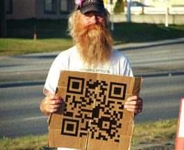 бездомные qr код