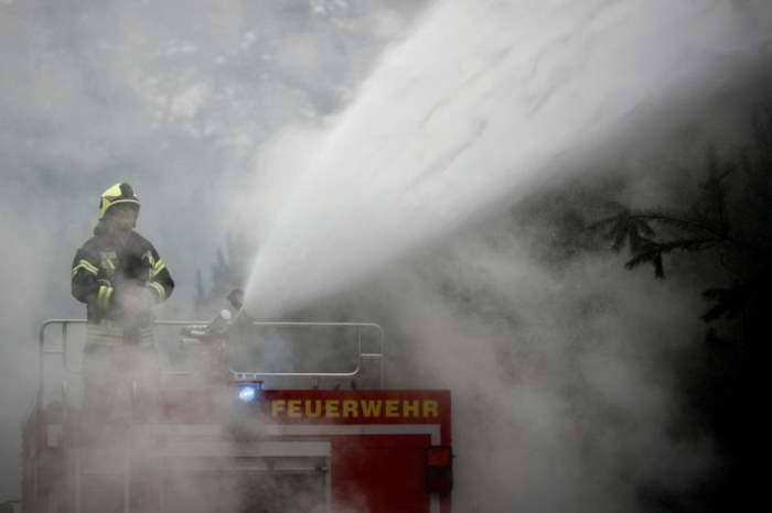 берлин пожар