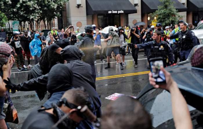 вашингтон протест