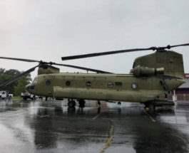 вертолет стоянка