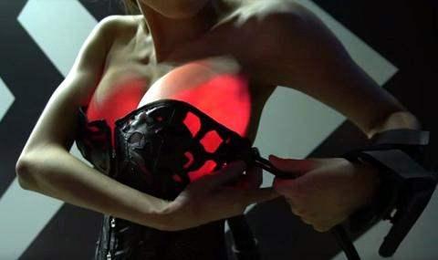 груди с подсветкой