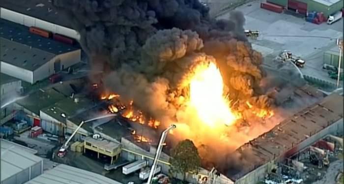 пожар мельбурн