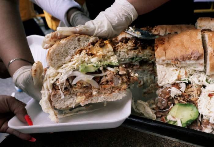 70-метровый бутерброд