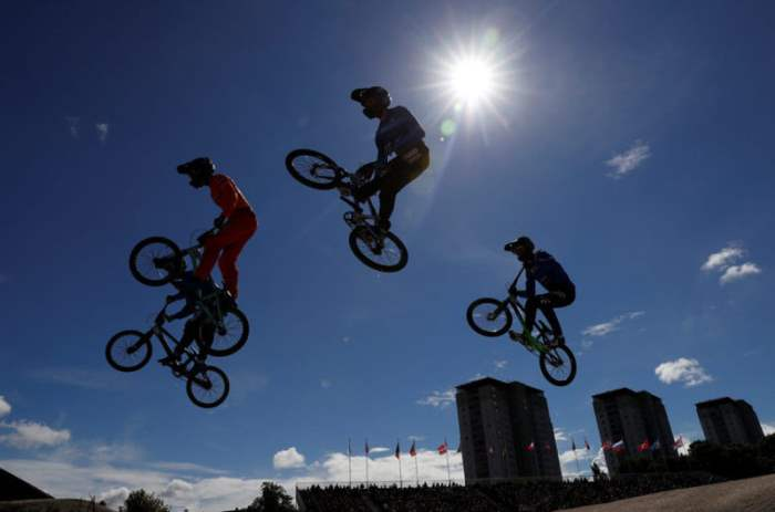 BMX Bike Competition Frame.