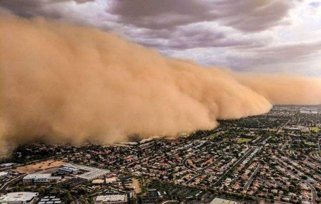 Epic Wall of Dust Arizona