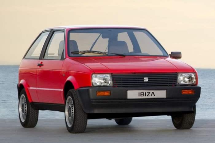 Seat Ibiza 'MkI'.