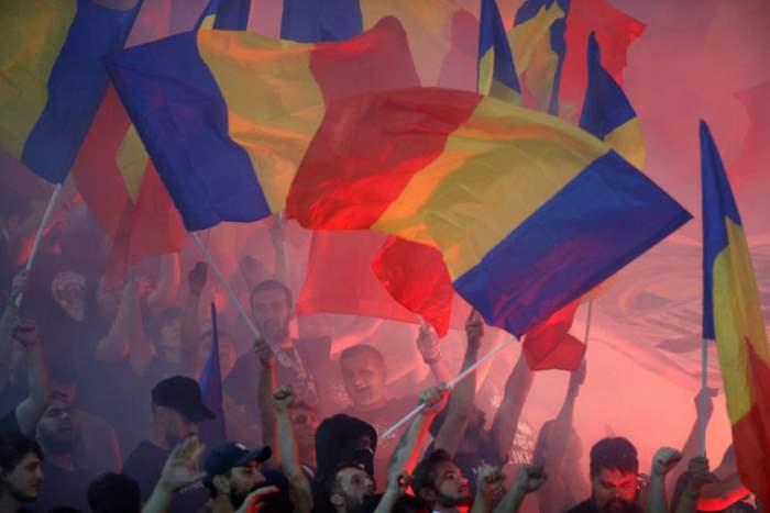 Болельщики сборной Румынии
