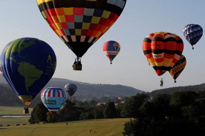 Воздушные шары в Великобритании.