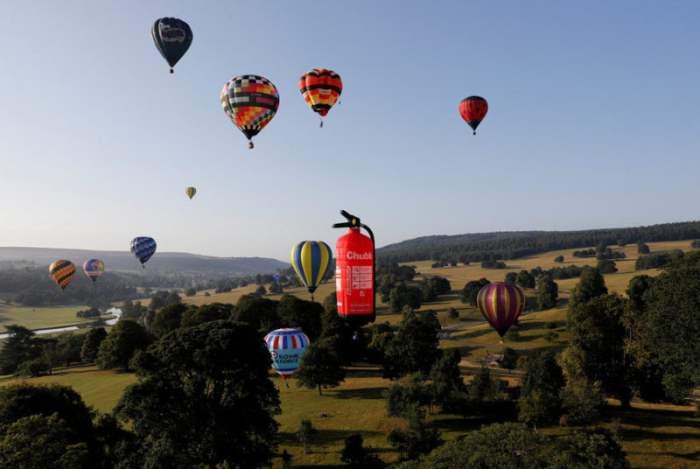 Воздушные шары в Чатсуорте