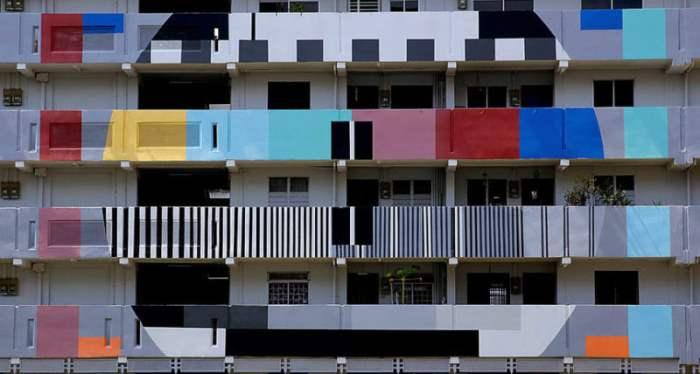 Жилой дом в Сингапуре.