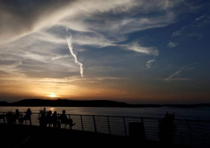Закат в Кире, Мальта.