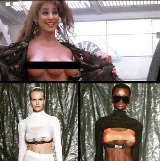 Модели с тремя грудьми