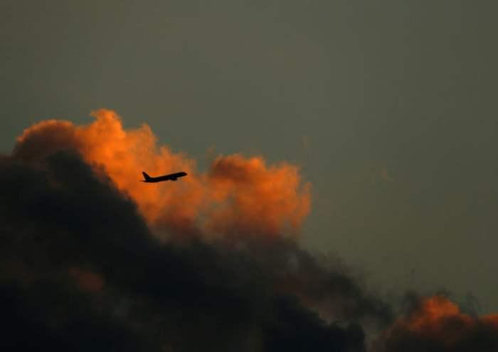 Самолет отправляется из аэропорта Мальты