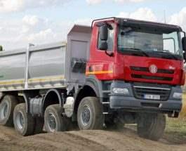 Уникальная подвеска грузовиков Tatra