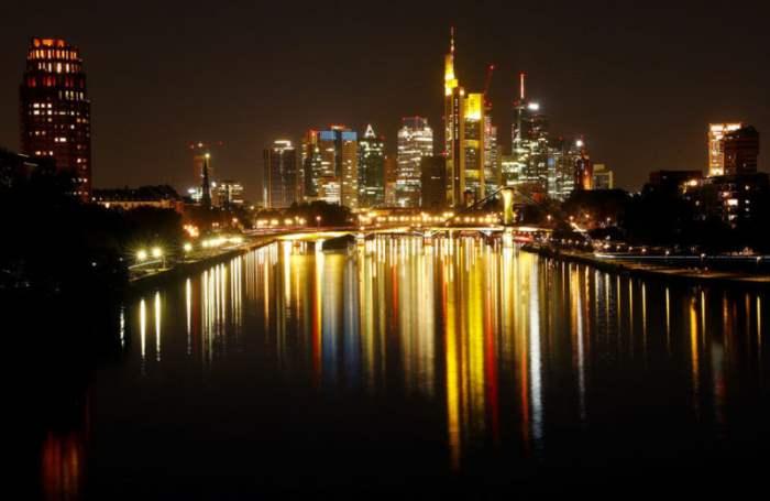 Финансовый округ Франкфурта, Германия.