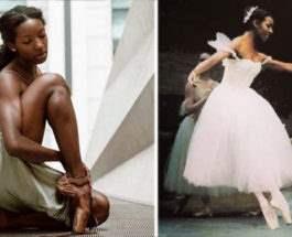 Чернокожая балерина