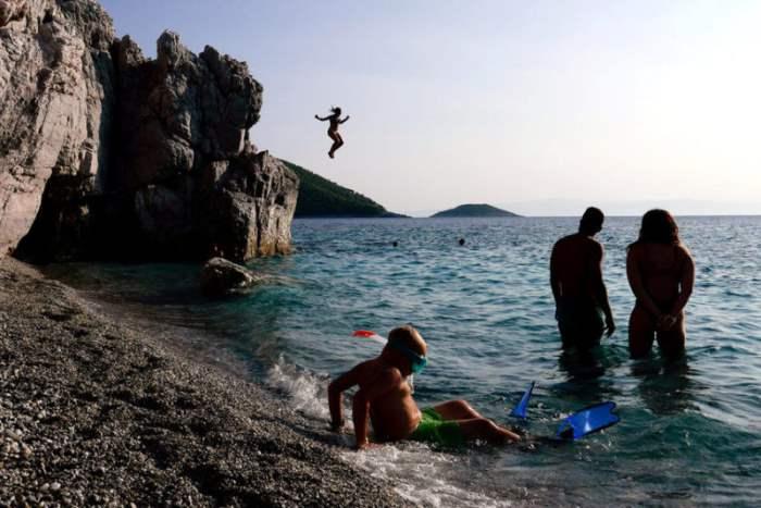 Чоколо на острове Скопелос