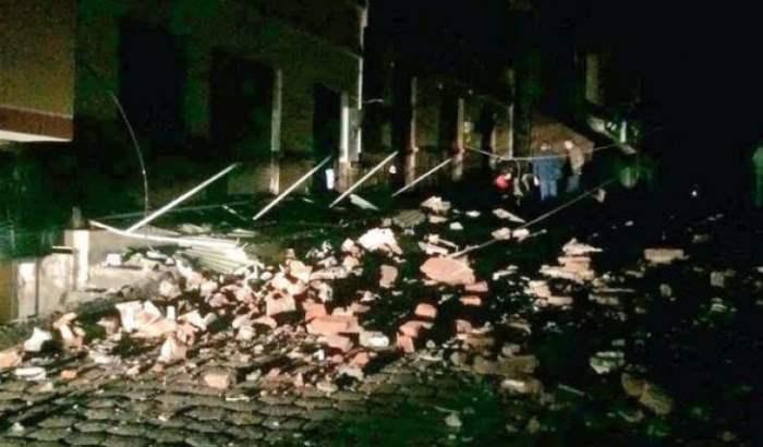Эквадор землетрясение